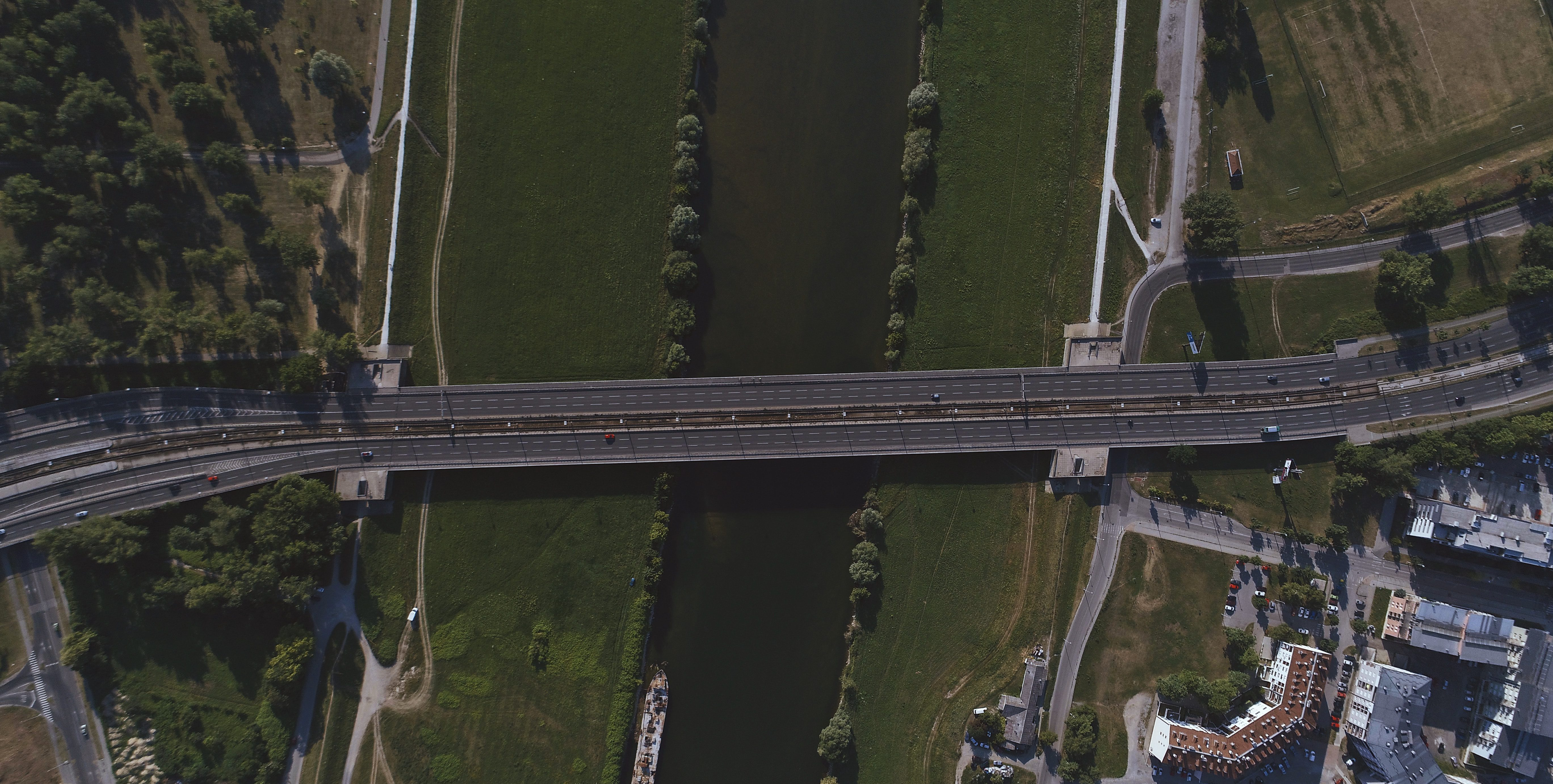 Photo of British bridge crossing canal or river