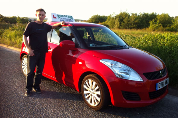 Photo of driving instructor Matthew Howcutt in Brighton & Hove