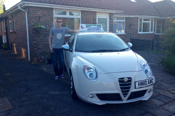 Photo of driving instructor Edward Taylor in Mid-Sussex