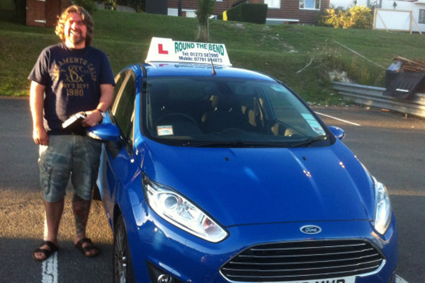 Photo of driving instructor Craig Wadhams in West Sussex